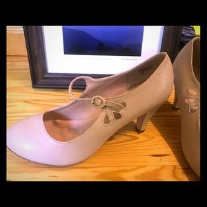Chase + Chloe Mary Janes. Never worn!